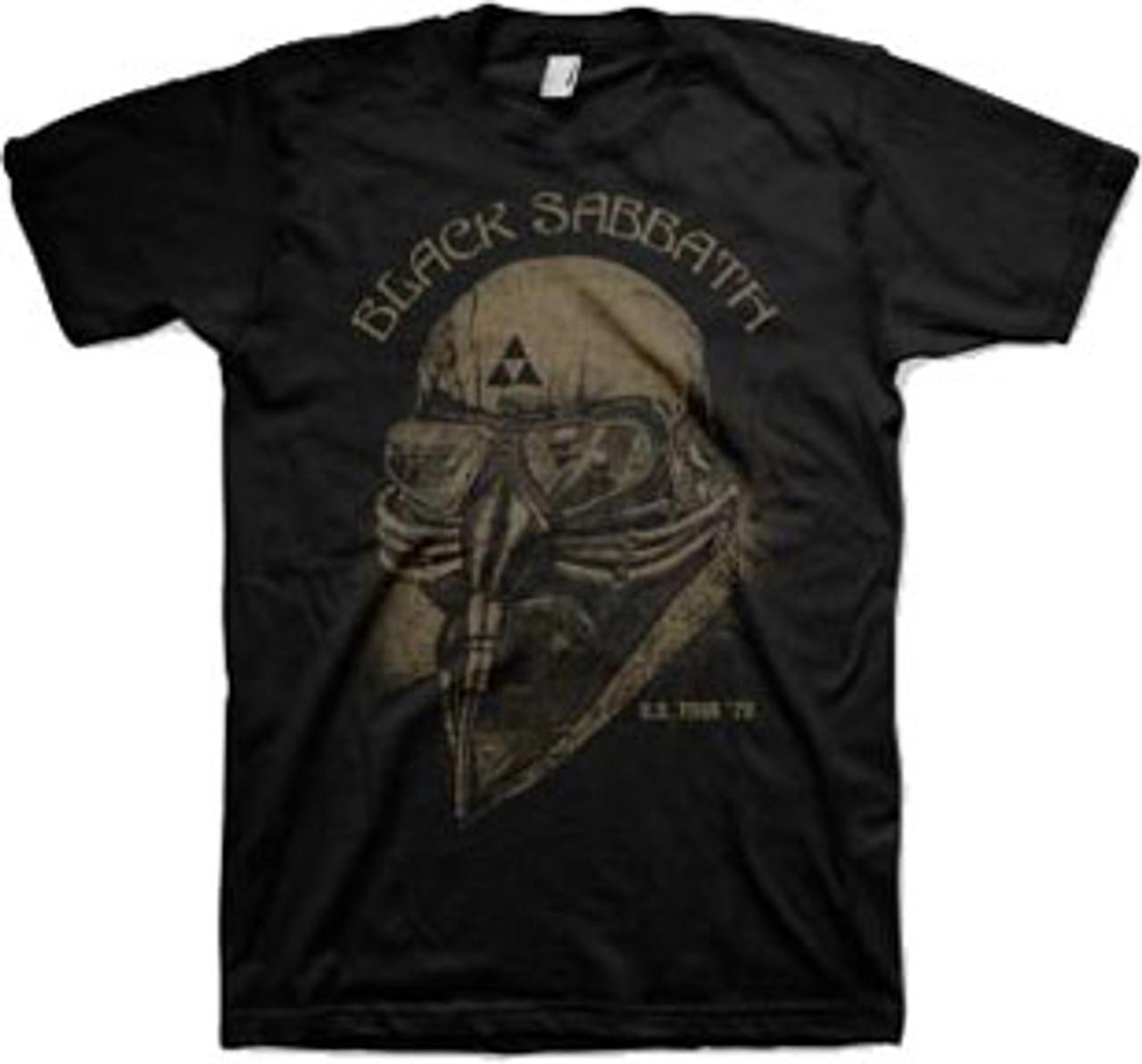 Amplified Black Sabbath 1978 US Tour Mens T-Shirt