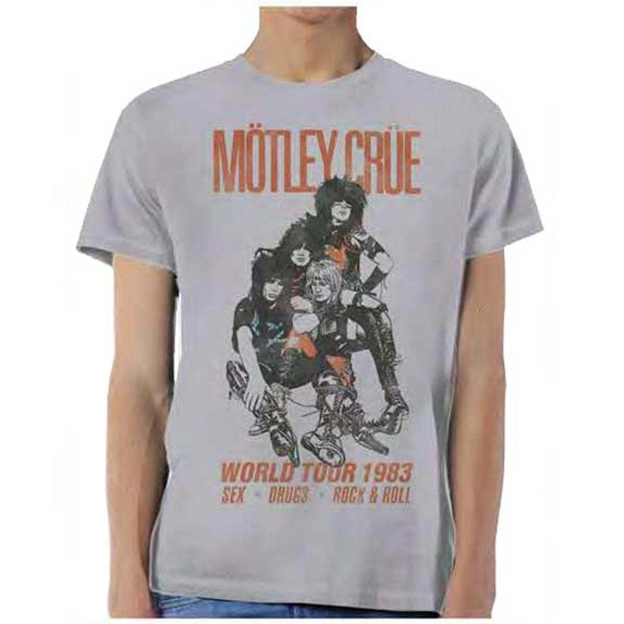 Motley Crue Too Fast Photos Black Slash Back Sweatshirt New Juniors Official