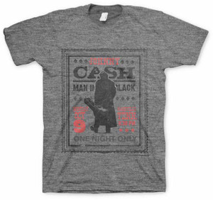 Johnny Cash Man in Black One Night Only T-Shirt f4a488bc8