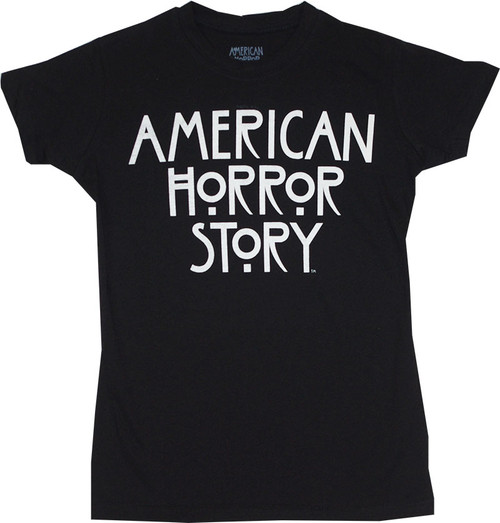 American Horror Story Logo Juniors T-Shirt