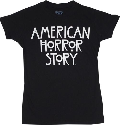 American Horror Story Logo Juniors T-Shirt