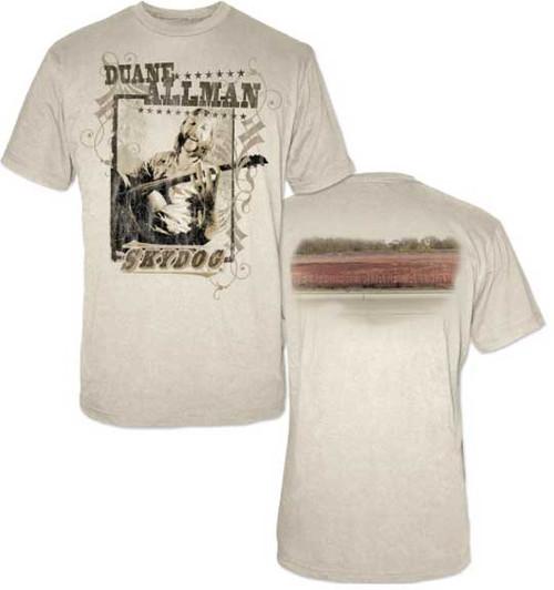 Duane Allman Skydog 2-sided T-Shirt
