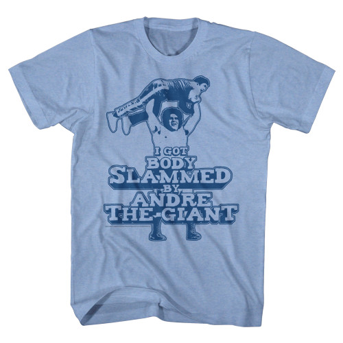 Body Slammed by Andre the Giant T-Shirt