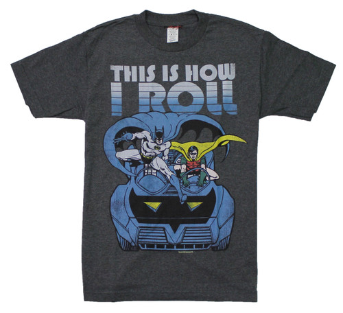 Batman This Is How I Roll T-Shirt
