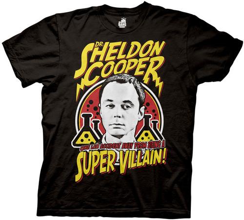 Big Bang Theory Sheldon Cooper Villain T-Shirt