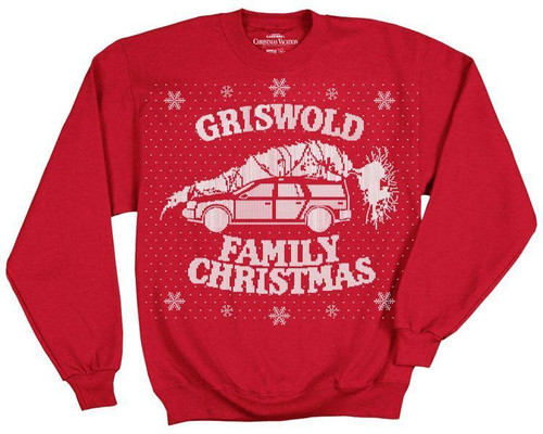 Christmas Vacation Griswold Family Christmas Sweatshirt