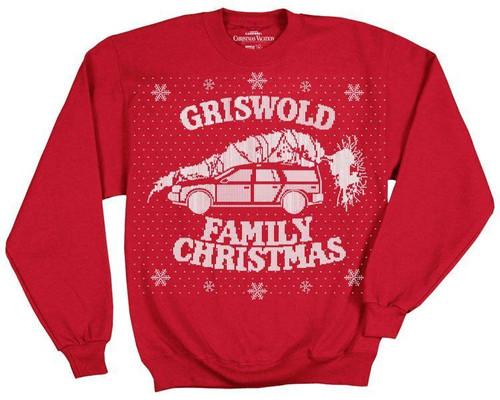 Christmas Vacation Griswold Family Christmas Sweatshirt