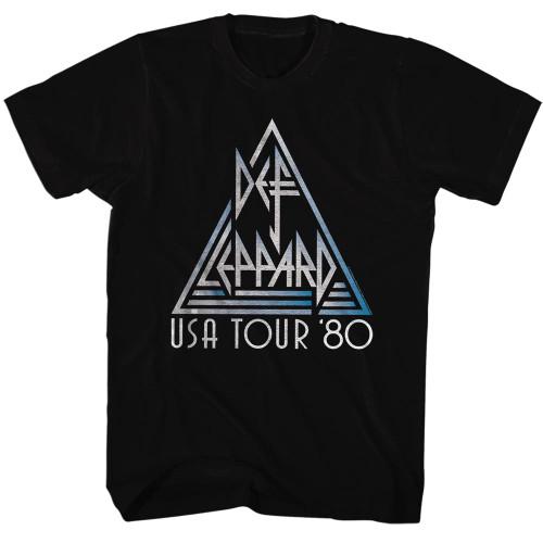 Def Leppard USA Tour '80 T-Shirt