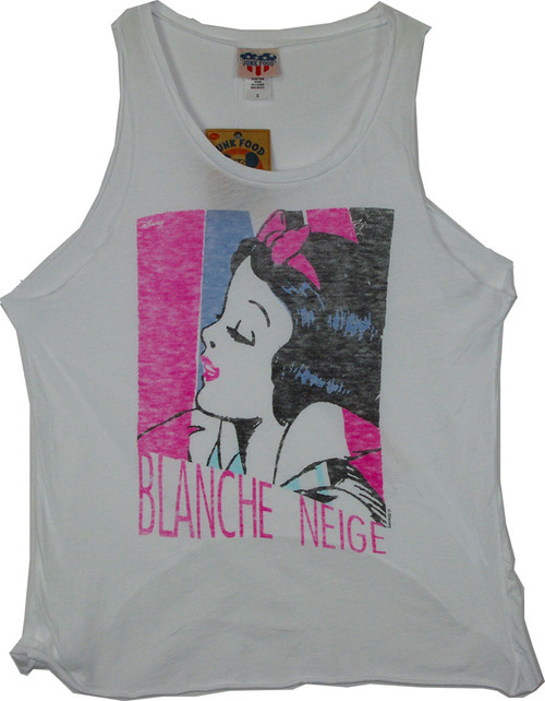 Junior's Blanche Neige Tank Top