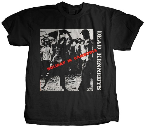 The Dead Kennedys Holiday in Cambodia T-Shirt