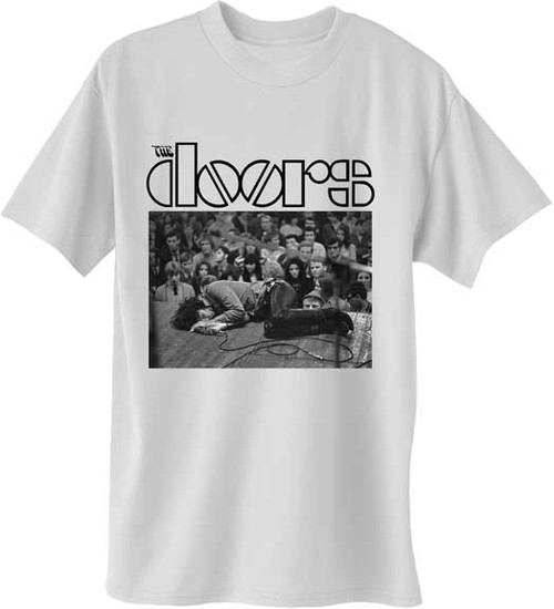 The Doors Jim Morrison Floored T-Shirt