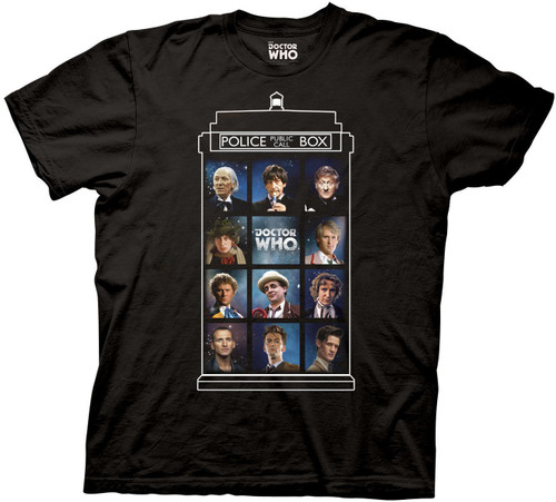 Doctor Who 50 Years 11 Doctors T-Shirt