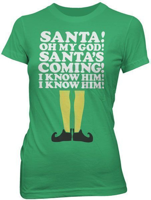 Elf SANTA! Juniors T-Shirt