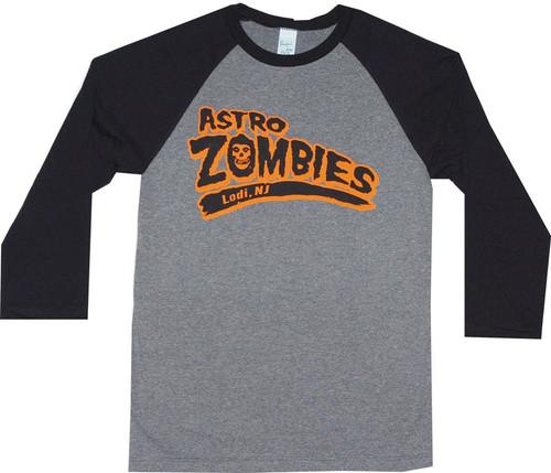 Misfits Astro Zombies Baseball Jersey