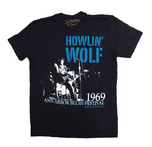 Howlin Wolf On Stage 1969 T-Shirt