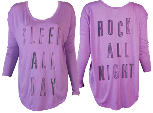 Sleep All Day, Rock All Night T-Shirt