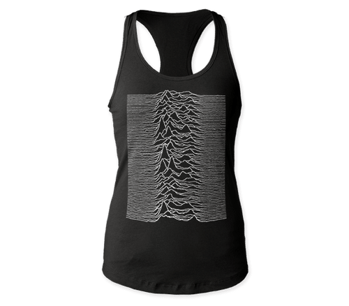 Women's Joy Division Unknown Pleasures Tank T-Shirt