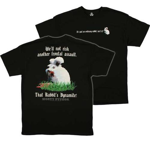 Monty Python Killer Rabbit T-Shirt with back