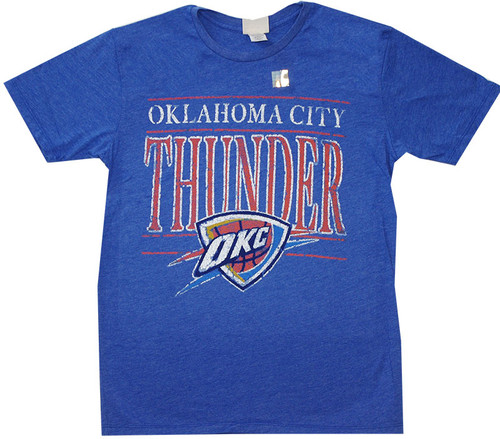 NBA Oklahoma City Thunder Logo T-Shirt