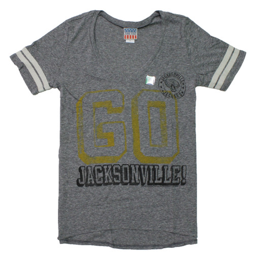 Women's NFL Jacksonville Jaguars Tailgate Tee T-Shirt