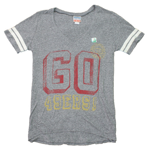 Women's NFL San Francisco 49ers Tee T-Shirt by Junk Food