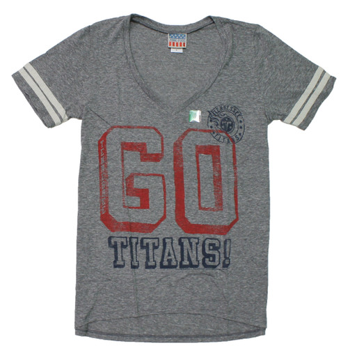 Women's NFL Tennessee Titans Tee T-Shirt by Junk Food