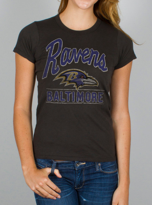 NFL Women's Baltimore Ravens Kickoff Crew T-Shirt