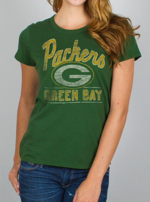 NFL Women's Green Bay Packers Kickoff Crew T-Shirt