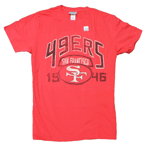 NFL San Francisco 49ers Kick Off Tee T-Shirt by Junk Food