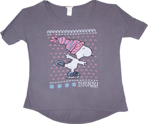 Peanuts Snoopy BRRR Women's T-Shirt