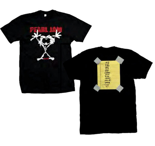 Pearl Jam Stickman Alive 2-sided T-Shirt
