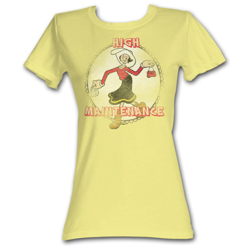 Olive Oyl High Maintenance Popeye T-Shirt
