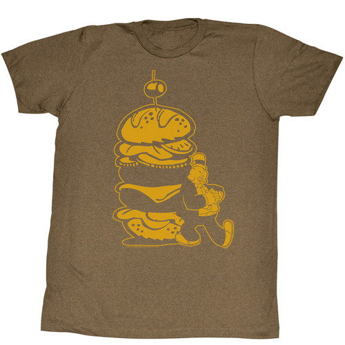 Burger for Wimpy Popeye T-Shirt