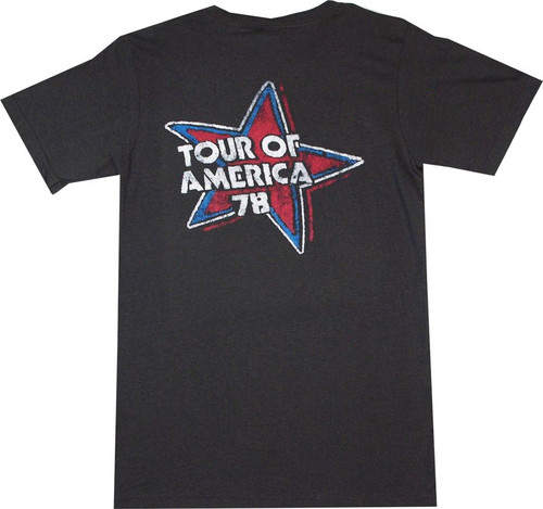 Rolling Stones Tour of America T-Shirt  back