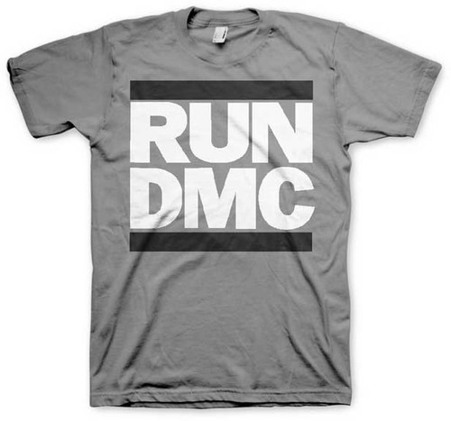 Run DMC Grayscale Logo T-Shirt