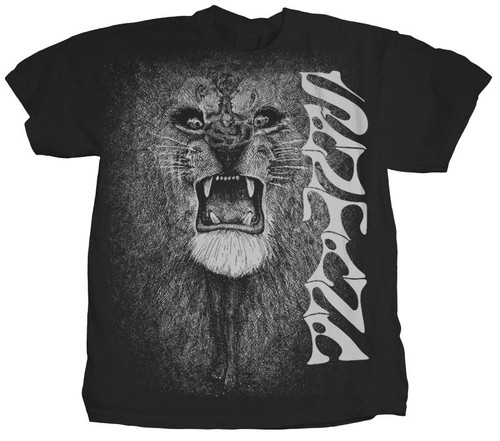 Santana White Lion T-Shirt