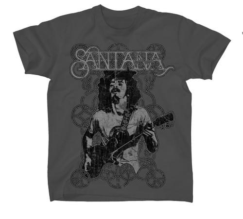Santana Vintage Peace Signs T-Shirt