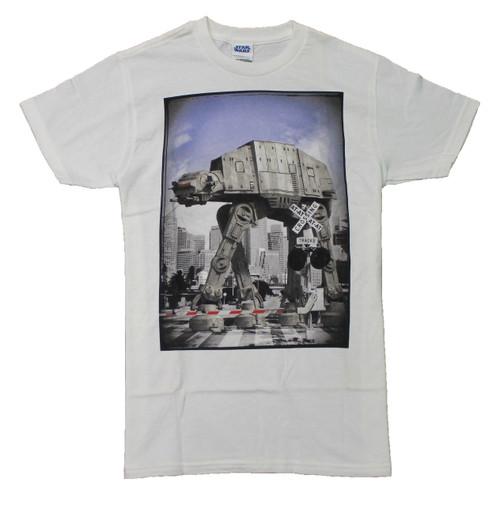 Star Wars AT-AT Crossing T-Shirt