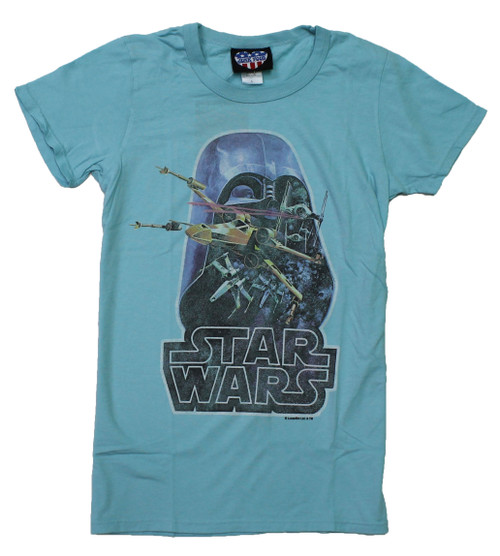 Vintage Star Wars Juniors T-Shirt by Junk Food