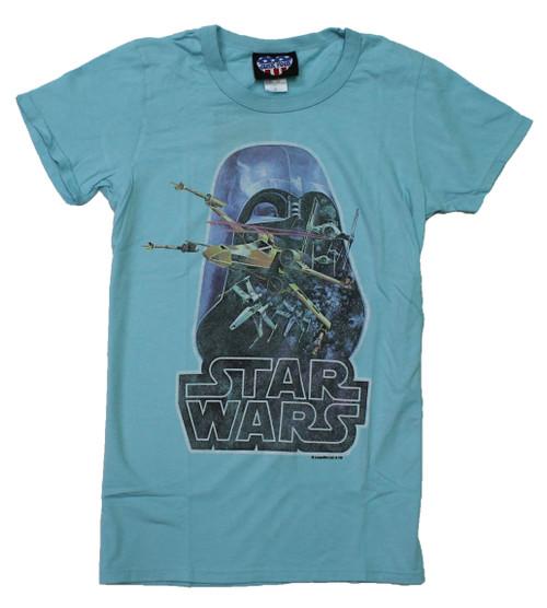 Vintage Star Wars Juniors T-Shirt by Junk Food