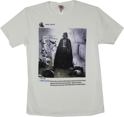 Star Wars Darth Vader Instagram T-Shirt