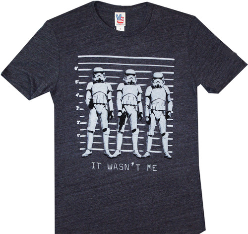 Star Wars Storm Troopers Line Up T-Shirt