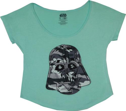 Star Wars Vader Camo Womens Dolman T-Shirt