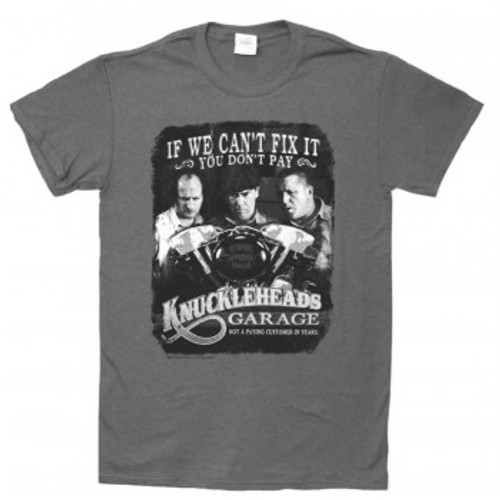 The Three Stooges Knuckleheads Garage T-Shirt