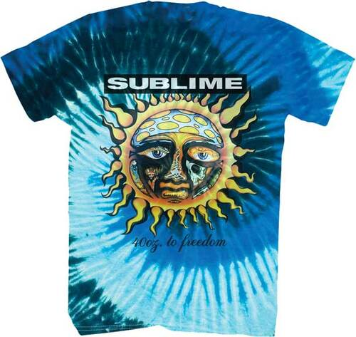 Sublime 40oz. to Freedom Tie Dye T-Shirt