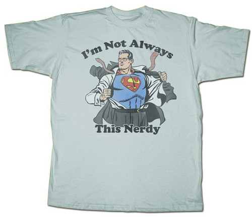 Superman Nerdy T-Shirt