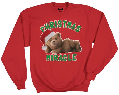 Ted Christmas Miracle Sweatshirt