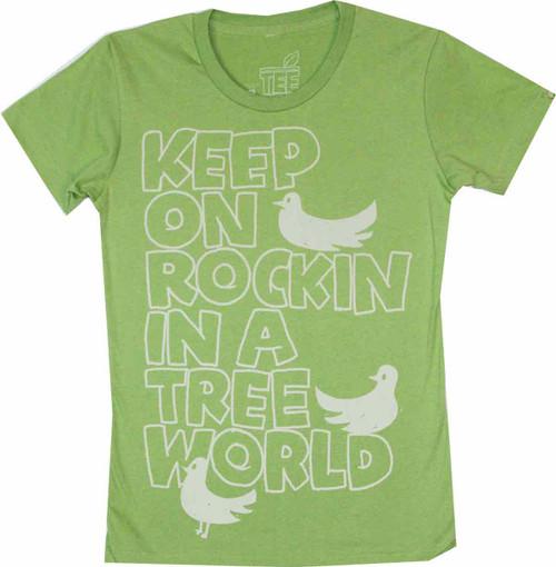 Keep on Rockin Juniors T-Shirt