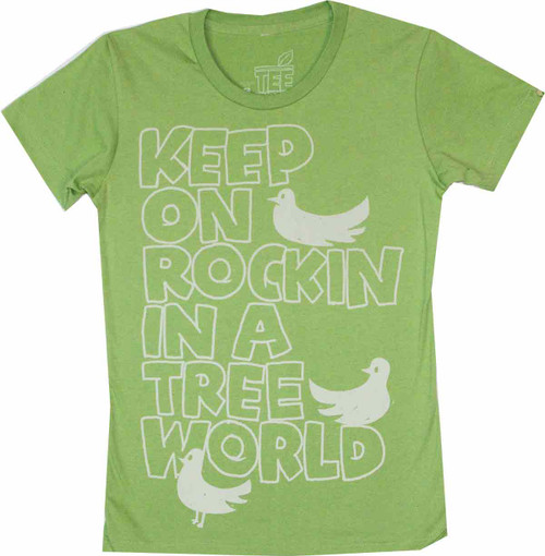 Keep on Rockin Juniors T-Shirt