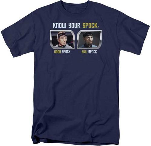 Star Trek Know Your Spock T-Shirt